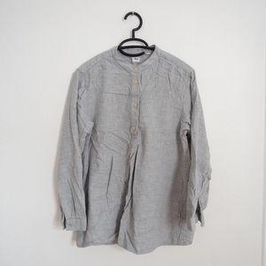 UNIQLO Grey Tunic Top